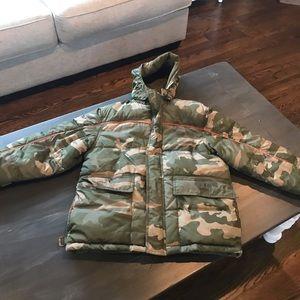 Old Navy Camo coat size large